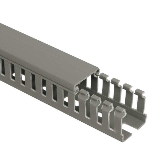 Кабель-канал перфорированный 25х25 L2000 ИМПАКТ серия М ИЭК CKM50-025-025-1-K03