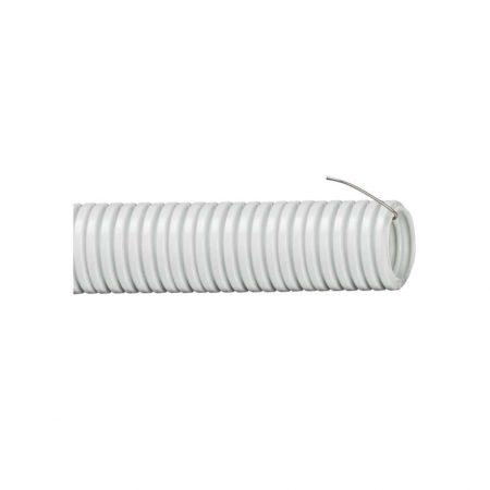 Труба гофрированная ПВХ d20мм с зондом сер. (уп.25м) ИЭК CTG20-20-K41-025I