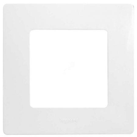 Рамка 1-м Etika бел. Leg 672501