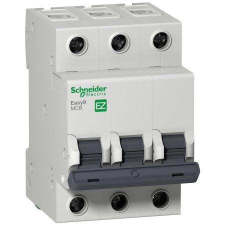 Выключатель автоматический модульный 3п B 16А 4.5кА EASY9 SchE EZ9F14316