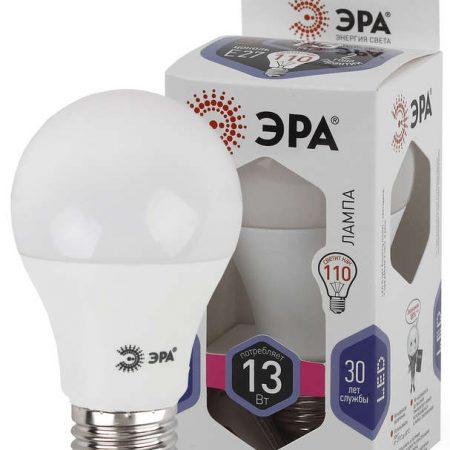Лампа светодиодная A60-13W-860-E27 грушевидная 1040лм ЭРА Б0031395