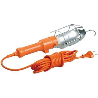 Светильник переносной УП-1P пл. вил. с выкл. 2Р 10м ИЭК WSP20-10-K09