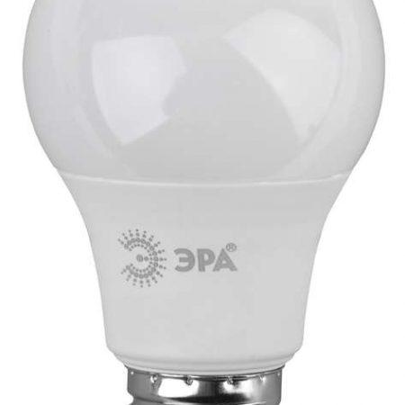 Лампа светодиодная A60-9W-840-E27 грушевидная 720лм ЭРА Б0032247
