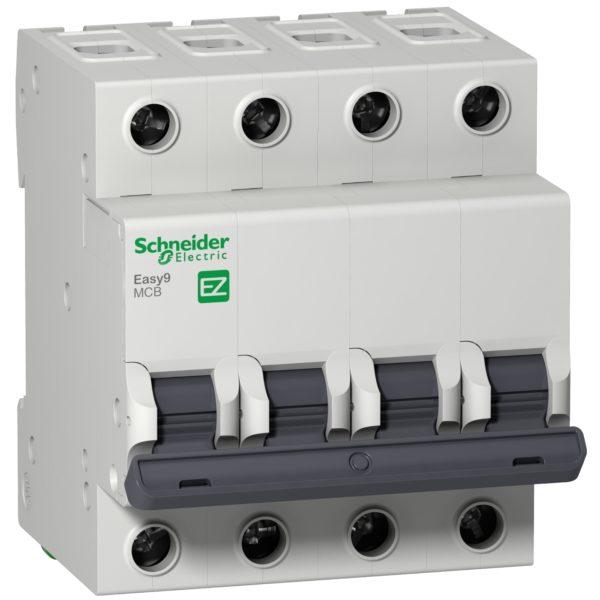 Выключатель автоматический модульный 3п C 32А 4.5кА ВА63 Домовой SchE 11226
