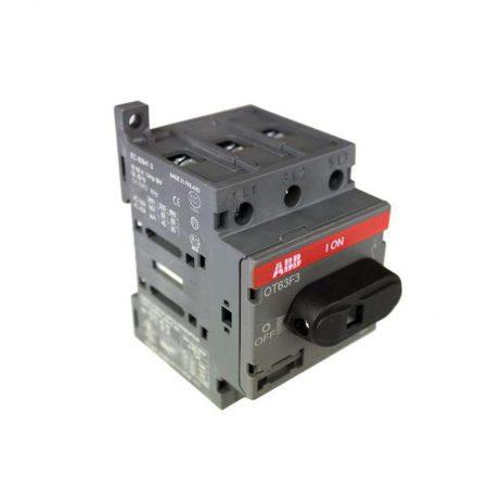 Рубильник 3п OT63 F3 63А (45А AC23) ABB 1SCA105332R1001