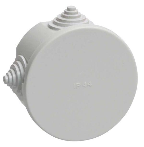 Коробка распаячная ОП 75х40 IP44 KM41237 (4 каб.ввод.) ИЭК UKO11-075-040-000-K41-44