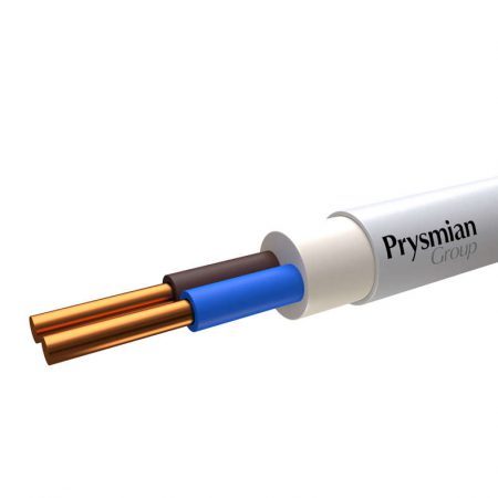 Кабель NYM-O 2х2.5 (бухта) (м) РЭК-PRYSMIAN 2002050901