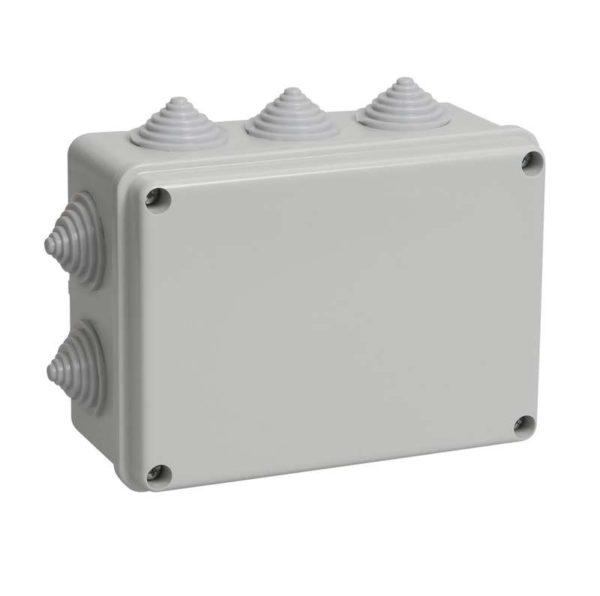 Коробка распаячная ОП 150х110х70 IP44 KM41241 (10 каб.ввод.) ИЭК UKO10-150-110-070-K41-44