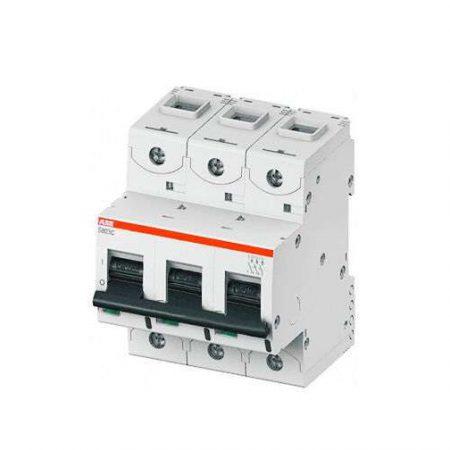Выключатель автоматический модульный 3п C 80А 25кА S803C ABB 2CCS883001R0804