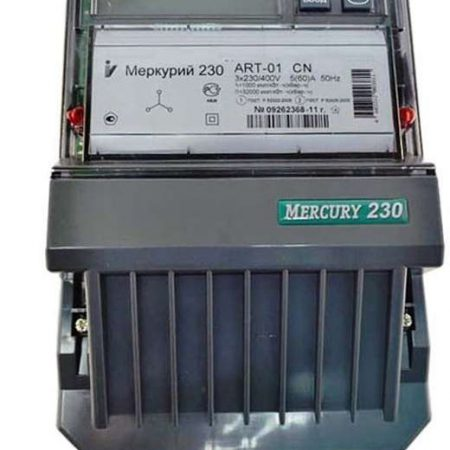 "Счетчик ""Меркурий"" 230 ART-01 CN 3ф 5-60А 1.0s/2.0 класс точн. многотариф. CAN ЖКИ Моск. вр. Инкотекс 32505"