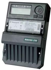 "Счетчик ""Меркурий"" 230 ART-01 PQRSIN 3ф 5-60А 1.0/2.0 класс точн.; многотариф. RS485 ЖКИ Моск. вр. Инкотекс 32822"
