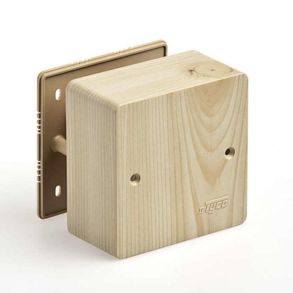Коробка универсальная для кабель-каналов 85х85х42 сосна (светл. основа) IP40 Рувинил 65015-27М