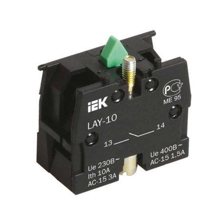 Блок контактный 1з для LAY5 ИЭК BDK21