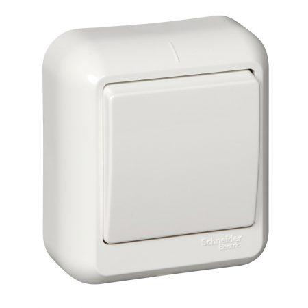 Выключатель 1-кл. ОП Прима 10А IP20 бел. (опт. упак) SchE VA1U-112-B