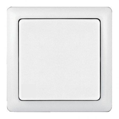 Выключатель 1-кл. ОП Хит 6А IP20 бел. SchE VA16-131-B