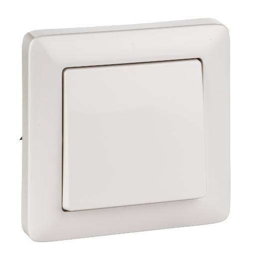 Выключатель 1-кл. СП Хит 6А IP20 бел. SchE VS16-133-B