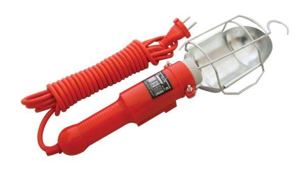 Светильник переносной ПВС 2х0.75 с выкл. и розеткой 10м 220В UNIVersal 966U-0210