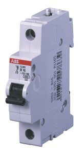 Выключатель автоматический модульный 1п B 10А 6кА S201 ABB 2CDS251001R0105
