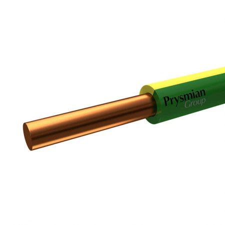 Провод ПуВ 6 Ж/З (бухта) (м) РЭК-PRYSMIAN 0401070301