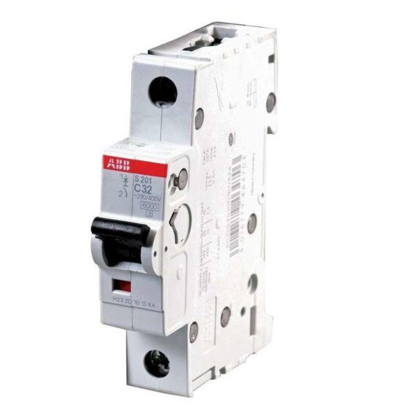 Выключатель автоматический модульный 1п C 10А 6кА S201 ABB 2CDS251001R0104