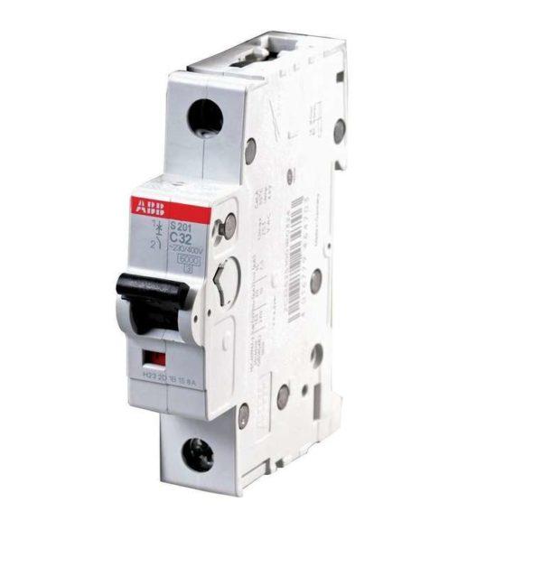 Выключатель автоматический модульный 1п C 32А 6кА S201 ABB 2CDS251001R0324