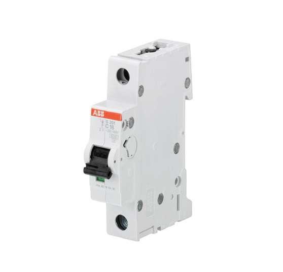 Выключатель автоматический модульный 1п C 6А 6кА S201 ABB 2CDS251001R0064