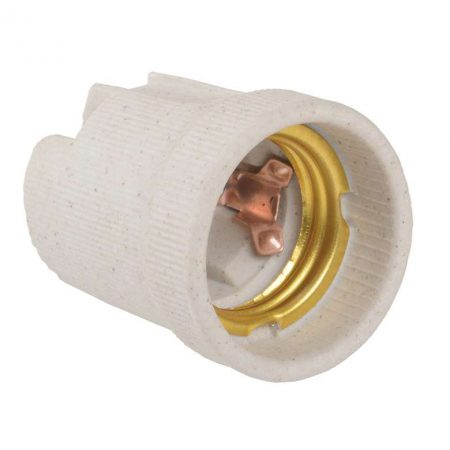 Патрон электрич. E27 Пкр27-04-К43 подвесной керамич. (с этикет.) ИЭК EPC10-04-01-K01