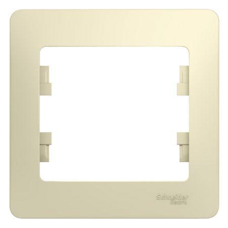 Рамка 1-м Glossa беж. SchE GSL000201