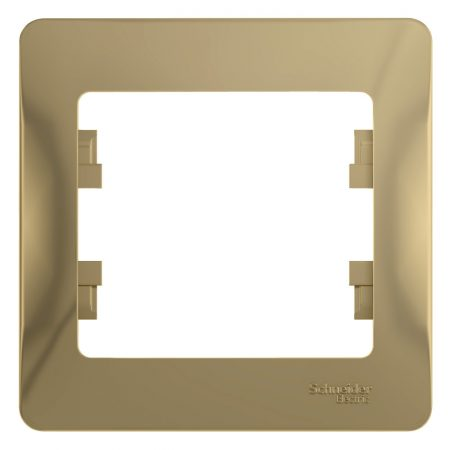 Рамка 1-м Glossa титан SchE GSL000401