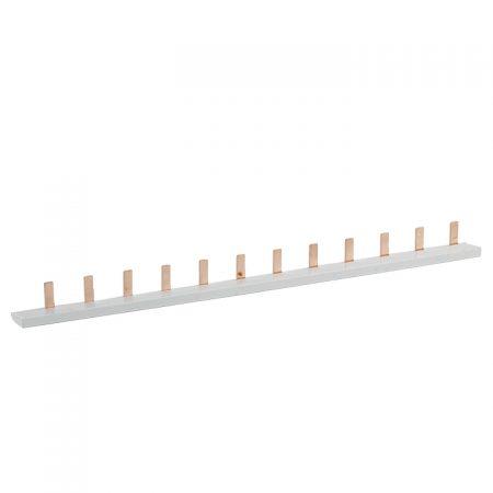 Шина соединительная PIN 1ф 63А мед. изол. 54мод (дл.1м) EKF pin-01-63