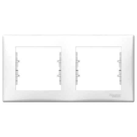 Рамка 2-м Sedna горизонт. бел. SchE SDN5800321