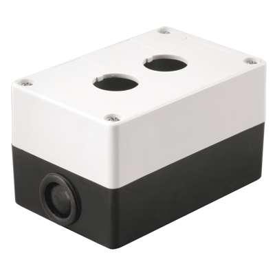 Корпус КП 102 2-м бел. для кнопок ИЭК BKP10-2-K01