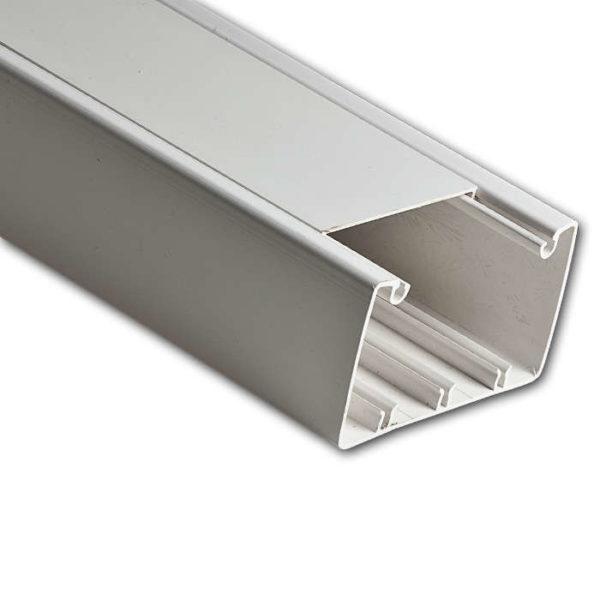 Кабель-канал 100х60 L2000 пластик бел. Рувинил РКК-100х60