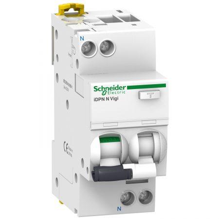 Выключатель автоматический дифференциального тока 2п (1P+N) C 16А 30мА тип A 6кА iDPN N VIGI Acti9 SchE A9D32616