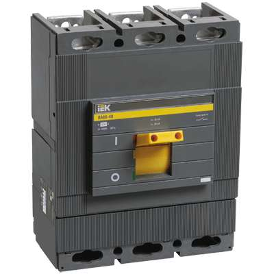 Выключатель автоматический 3п 630А ВА 88-40 ИЭК SVA50-3-0630