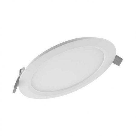 Светильник светодиодный Downlight SLIM ROUND тонкий ДВО 24Вт 6500К 1920Лм IP20 ECO CLASS бел. LEDVANCE 4058075154902