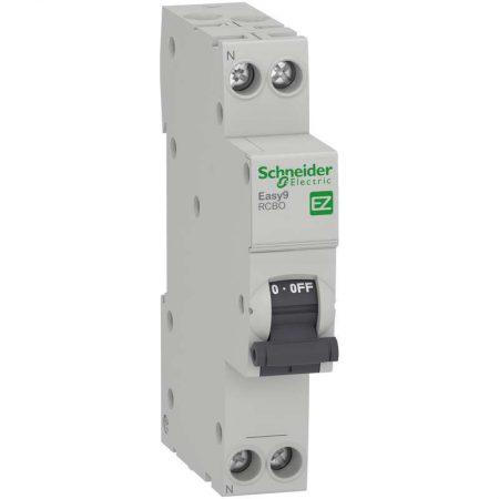 Выключатель автоматический диф. тока 1P+N C 16А 10мА 4.5кА AC 18мм SchE EZ9D63616