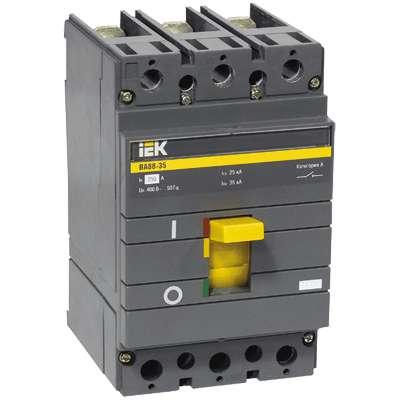 Выключатель автоматический 3п 160А ВА 88-35 ИЭК SVA30-3-0160
