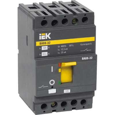 Выключатель автоматический 3п 63А ВА 88-32 ИЭК SVA10-3-0063