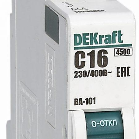 Выключатель автоматический модульный 1п C 10А 4.5кА ВА-101 SchE 11053DEK