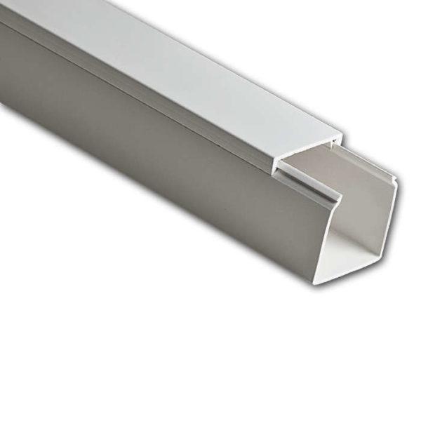 Кабель-канал 40х40 L2000 пластик бел. Рувинил РКК-40х40