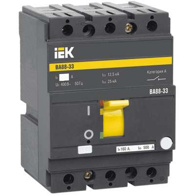 Выключатель автоматический 3п 125А ВА 88-33 ИЭК SVA20-3-0125
