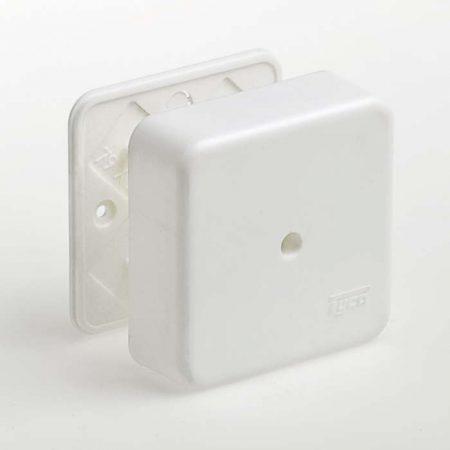 Коробка универсальная для кабель-каналов 80х80х25 IP40 Рувинил 65005