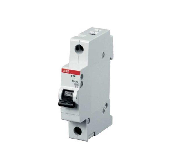 Выключатель автоматический модульный 1п C 6А 4.5кА SH201L ABB 2CDS241001R0064