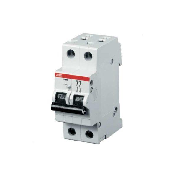 Выключатель автоматический модульный 2п C 32А 4.5кА SH202L ABB 2CDS242001R0324