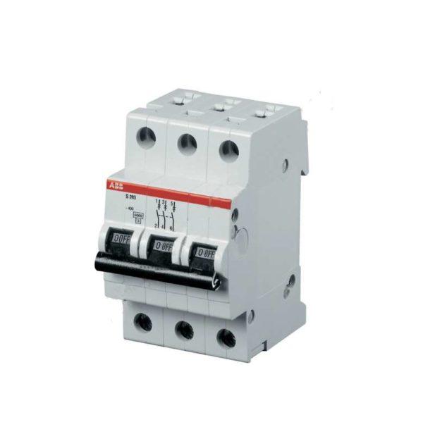 Выключатель автоматический модульный 3п C 25А 4.5кА SH203L ABB 2CDS243001R0254
