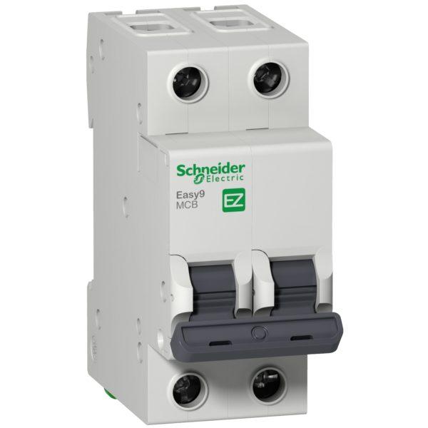 Выключатель автоматический модульный 2п C 16А 4.5кА EASY9 SchE EZ9F34216