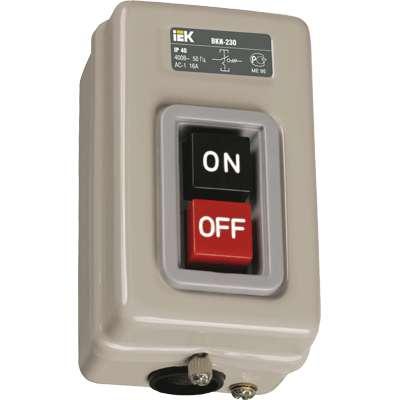 Выключатель ВКИ-230 16А 230/400В IP40 ИЭК KVK30-16-3