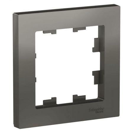 Рамка 1-м ATLAS DESIGN сталь SchE ATN000901