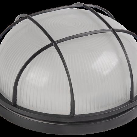 Светильник НПП 1302 60Вт E27 IP54 бел. круг с решеткой ИЭК LNPP0-1302-1-060-K01